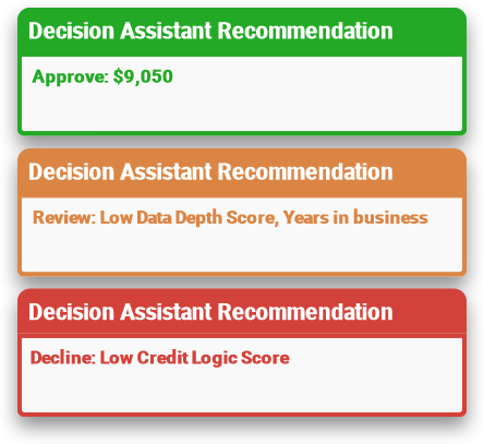 Decision Assistant recommendation preview graphic